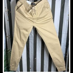 GUESS MENS CHINO JOGGERS SIZE SMALL